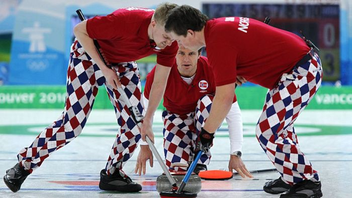 Curling Clowns