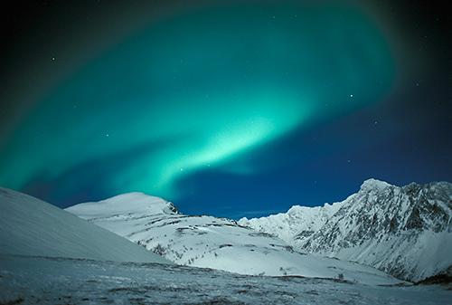 Northern Lights - naturinordtroms