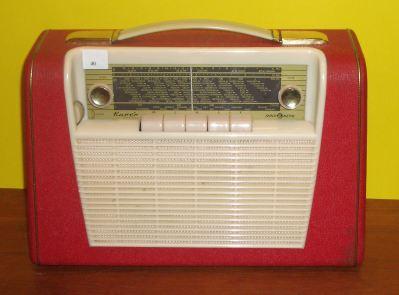Radionette Kurer Transi rød
