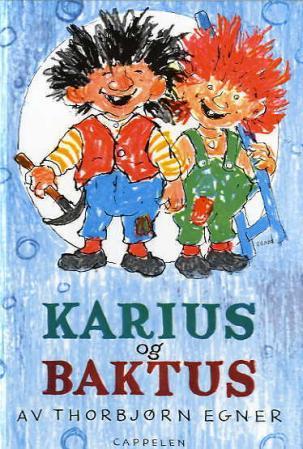 Karius og Baktus - forside