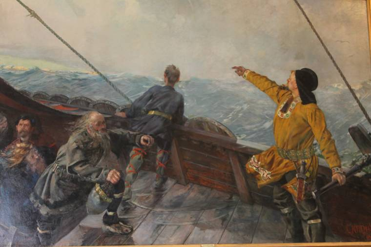 Norwegian Painter Christian Krohg (1852-1925) |
