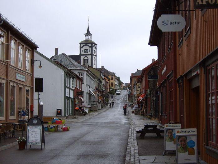 Røros Mining Town Norway