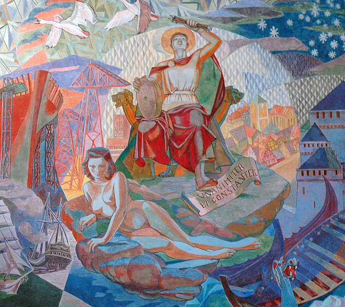Oslo City's Patron Saint Hallvard ? Defending a Pregnant Women