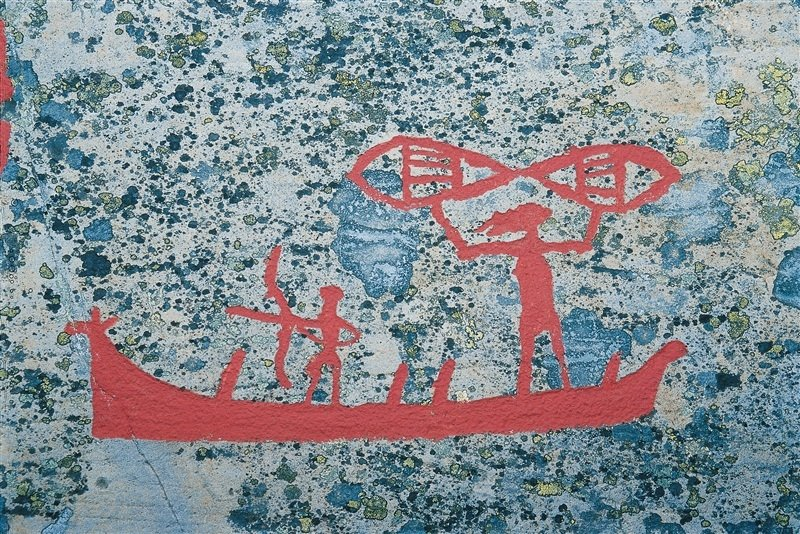 The rock art of alta thornews