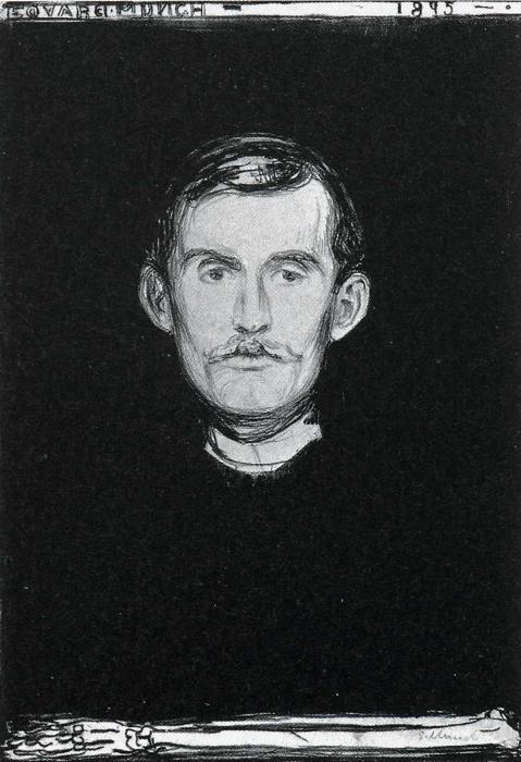 Munch - selvportrett