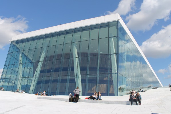 Oslo Opera House, glass, photo ThorNews