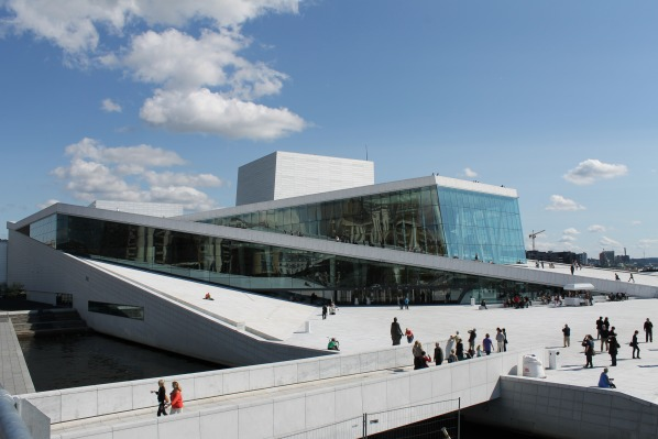 Oslo Opera House Outside - photo ThorNews