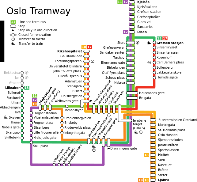 Trainticket, norway - /en