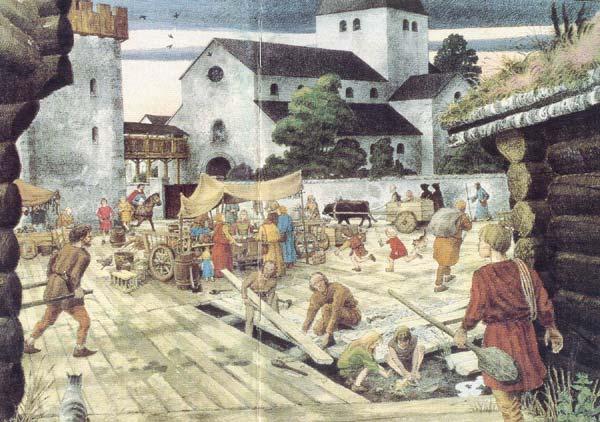 Oslos første torg - Karl Fredrik Keller