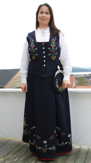 Female bunad from Lofoten Lofotbunad