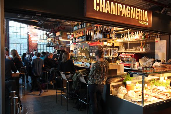 Mathallen - Champagneria