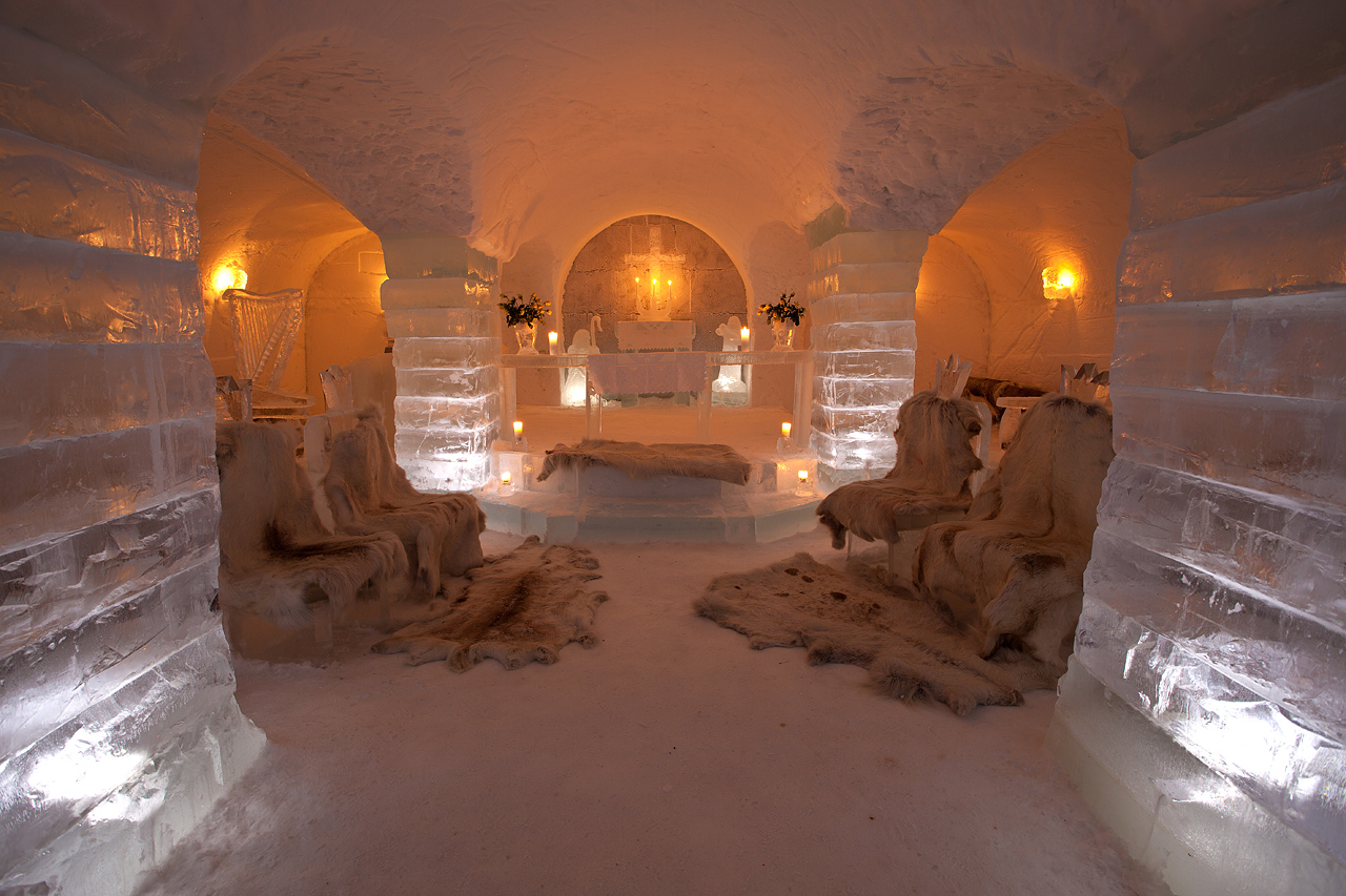 The gallery for --> Inside A Real Igloo