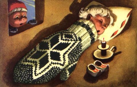 julekort - harald damsleth