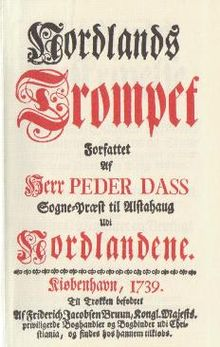 Petter Dass Nordlands Trompet