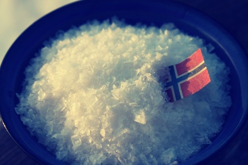 Mye salt i flagget