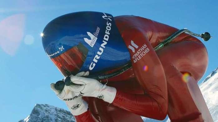 Speedskiing Liss-Anne Pettersen