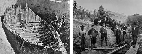 Gokstad Ship Excavation