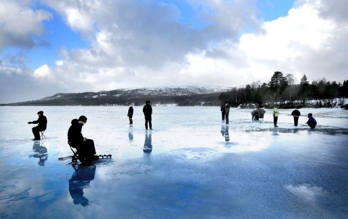 Ice Fishing Western Norway 1