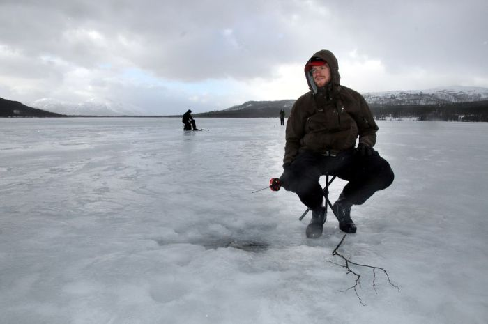Ice Fishing Western Norway 3