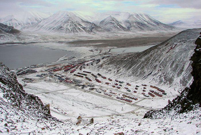 Longyearbyen Svalbard Overwiev