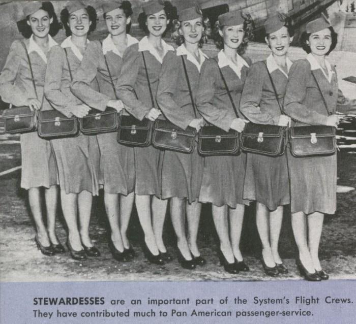 New words - stewardess