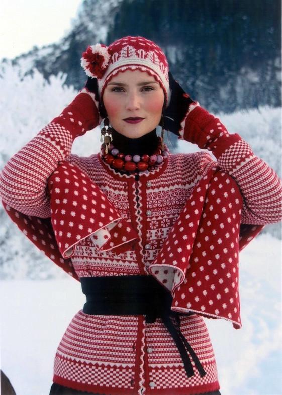 Oleana - rød vinter
