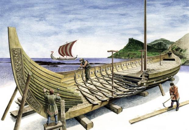 Viking Ship Construction