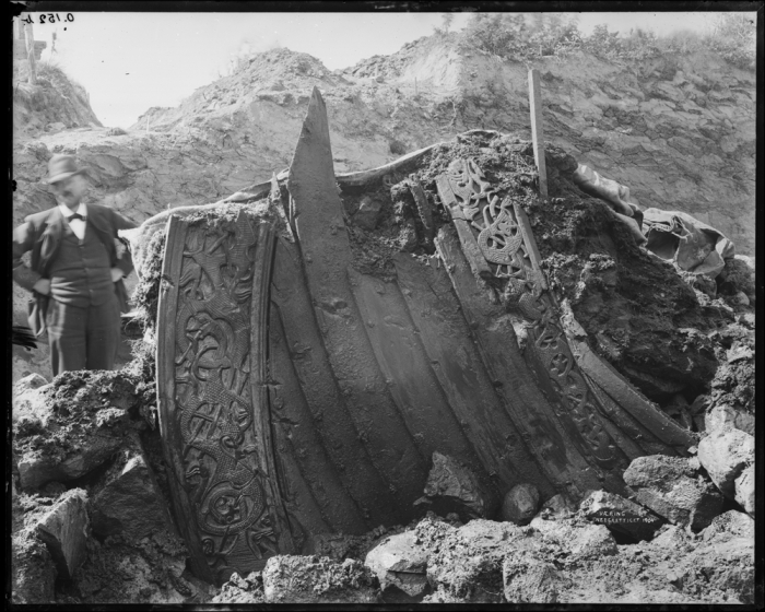 Oseberg Viking Ship Excavation 1904