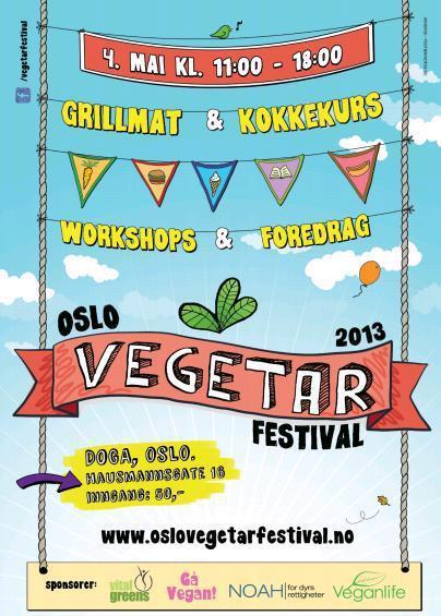 Oslo Vegetarfestival 2013