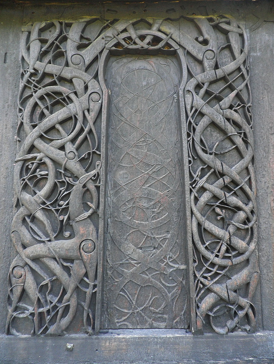 Urnes stave church 1130 ad for Decoration urne