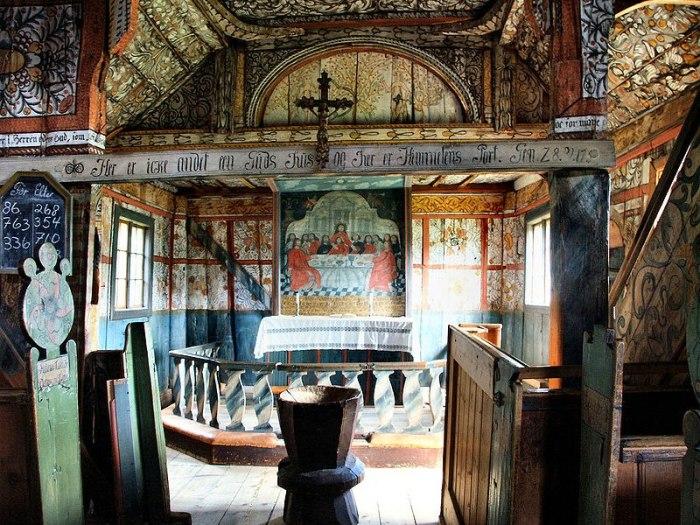 Uvdal Stavkirke - Det gamle Norge