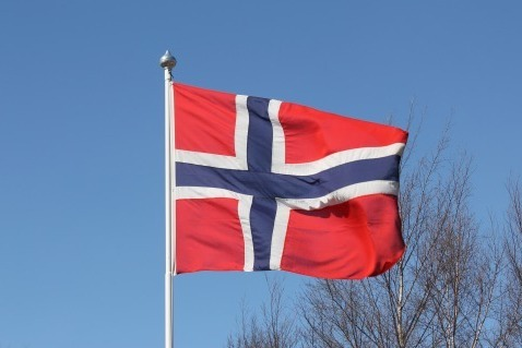 Flag flying day - Norway 8 May