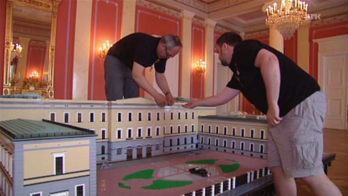 LEGO royal palace