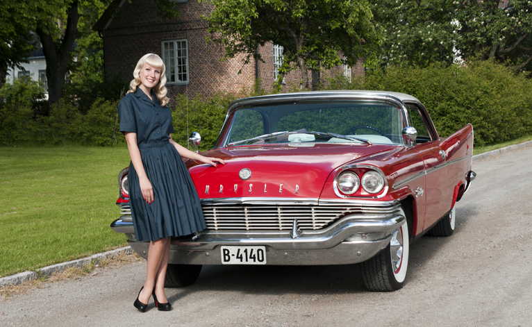 Norwegians love classic american cars thornews for Old american cars
