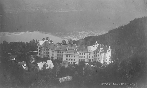 Luster sanatorium gammelt