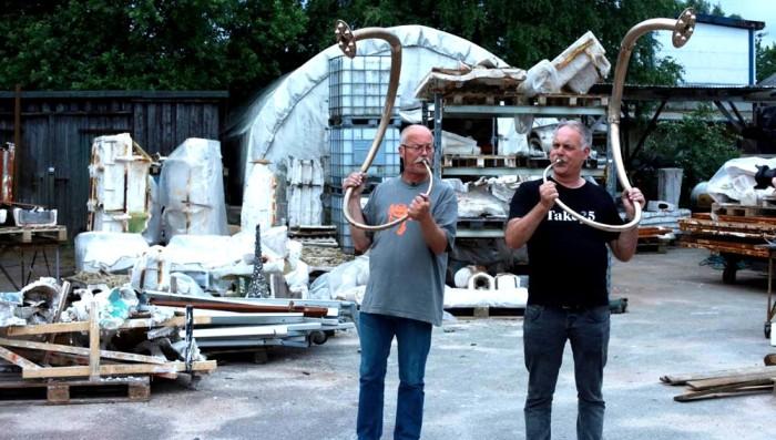Bronze Lure Jens og Gaute