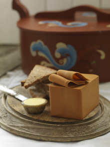 norwegian brunost � brown cheese � celebrates 150 years