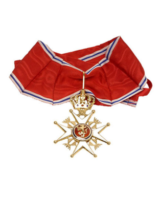 Commander Gentlemen Royal Order of St Olav