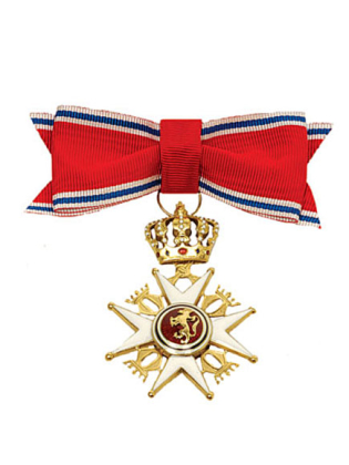 Commander Ladies Royal Order of St Olav