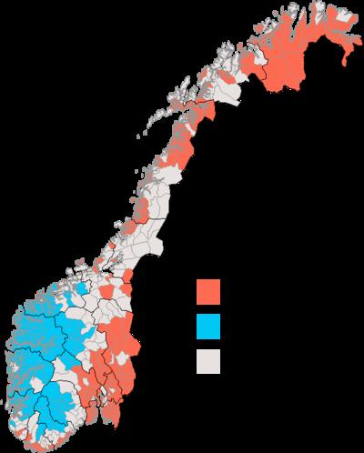 Ivar Aasen bokmål vs nynorsk