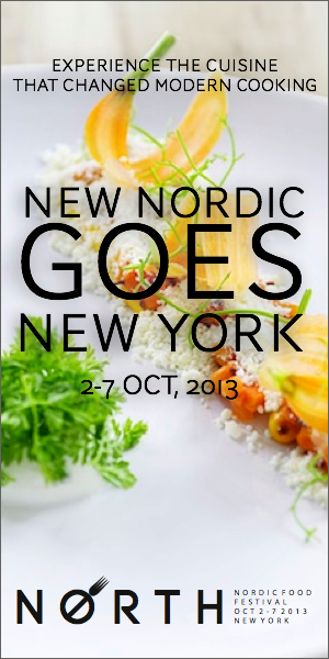 Nordic Food Festival Menue