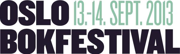 Oslo Bokfestival 2013
