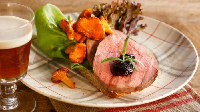 Roast Beef Chanterelle Recipe