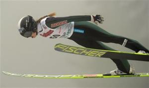Winter Sports ski jumping anette sagen