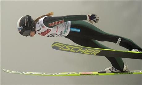 Winter Sports ski jumping anette sagen