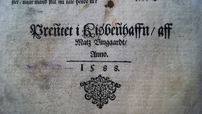 Bible 1588 Norway 2