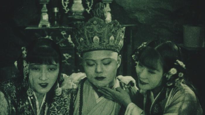 Kinesisk filmskatt funnet