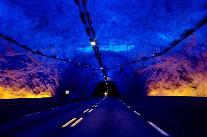 Lærdals Tunnel - World's Longest Tunnel
