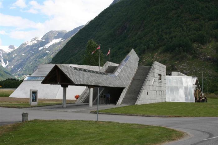 Sverre Fehn - Norwegian Glacier Museum - Wikipedia