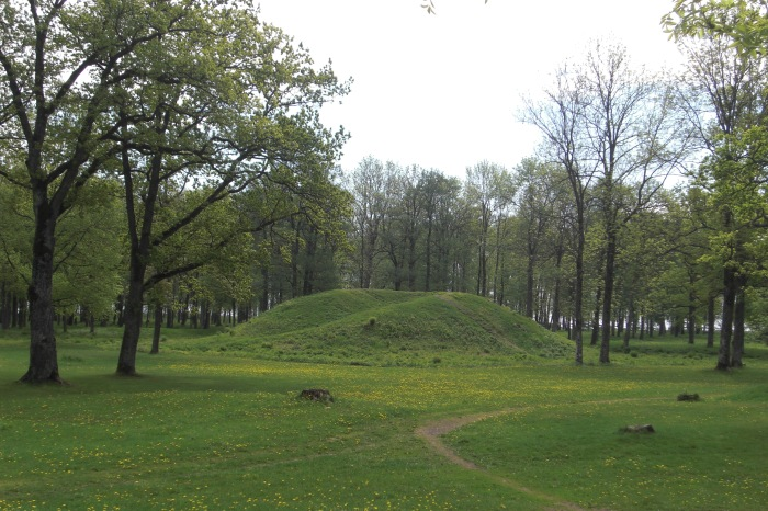 Viking Burial Mound Borreparken Norway